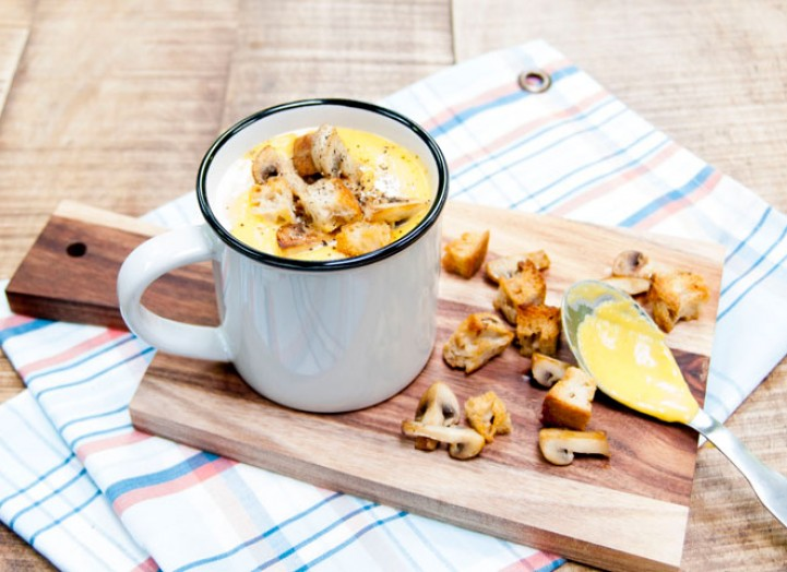Soupe d'automne à la butternut