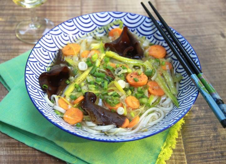 Soupe japonaise veggie la recette de soupe japonaise veggie foodette - Recette soupe japonaise ...