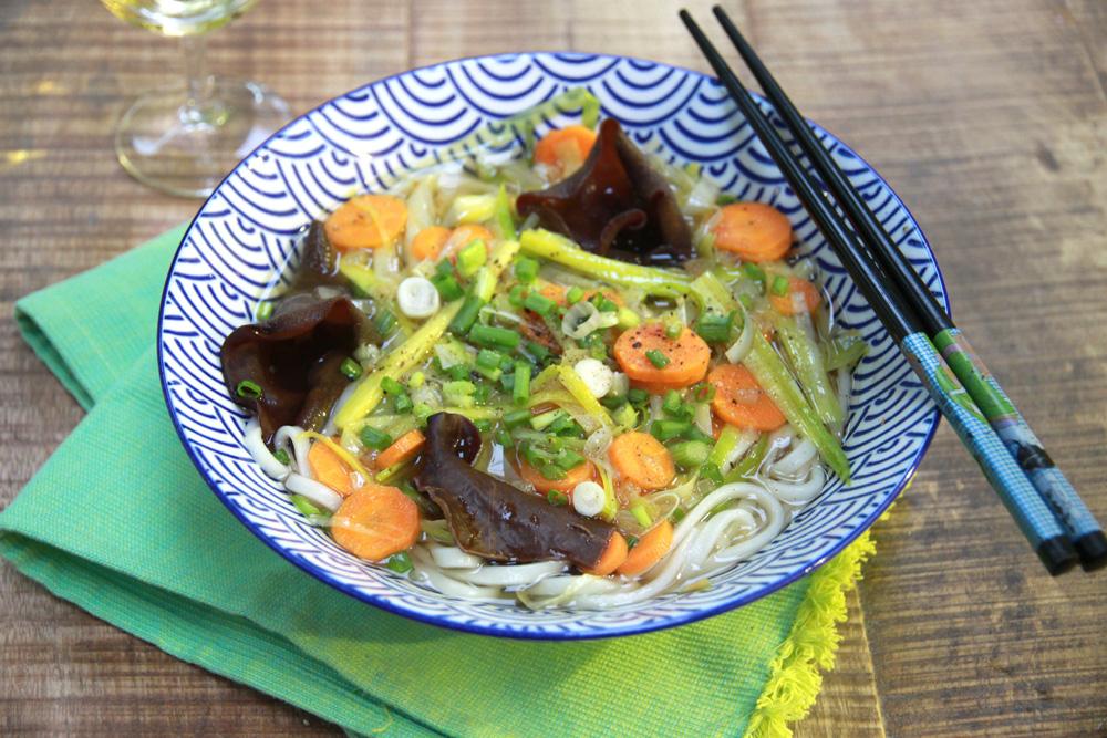 Soupe Japonaise Veggie