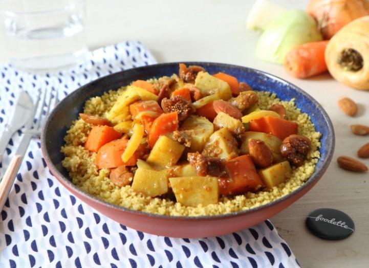 Couscous de légumes d'hiver aux 7 épices