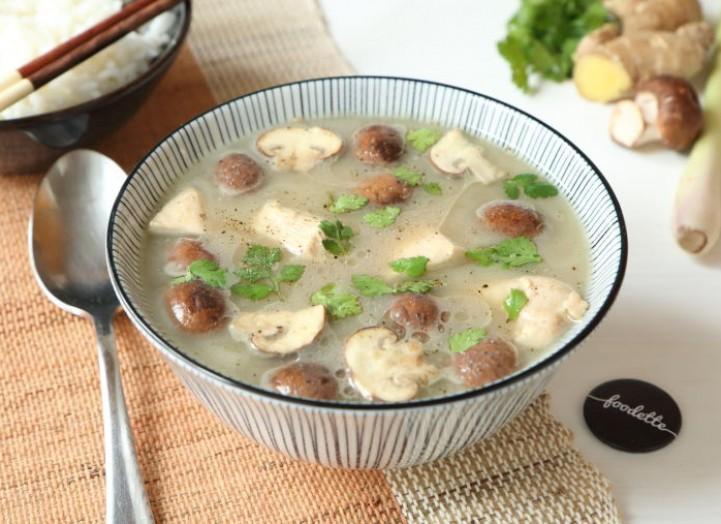Tom Kha Kaï - Soupe thaï poulet/coco/citronnelle