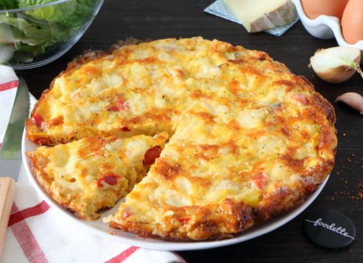 Tortilla basque à la tomme de brebis