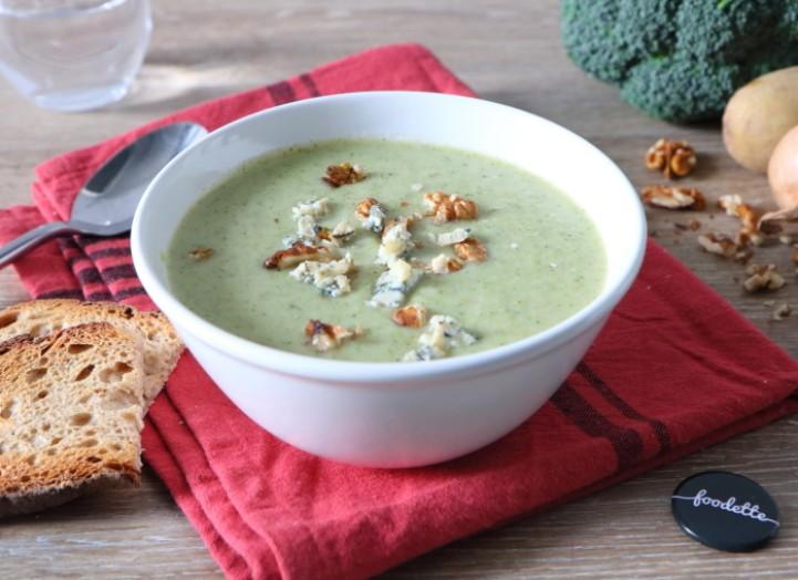 Soupe de brocoli au Stilton