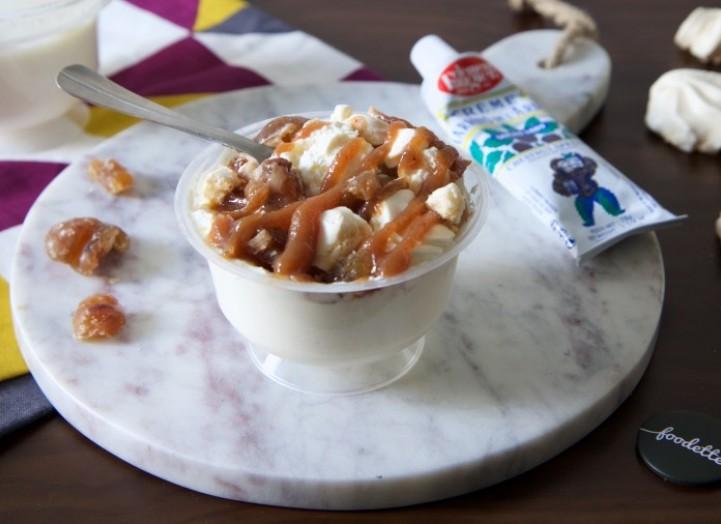 Le dessert façon Mont Blanc