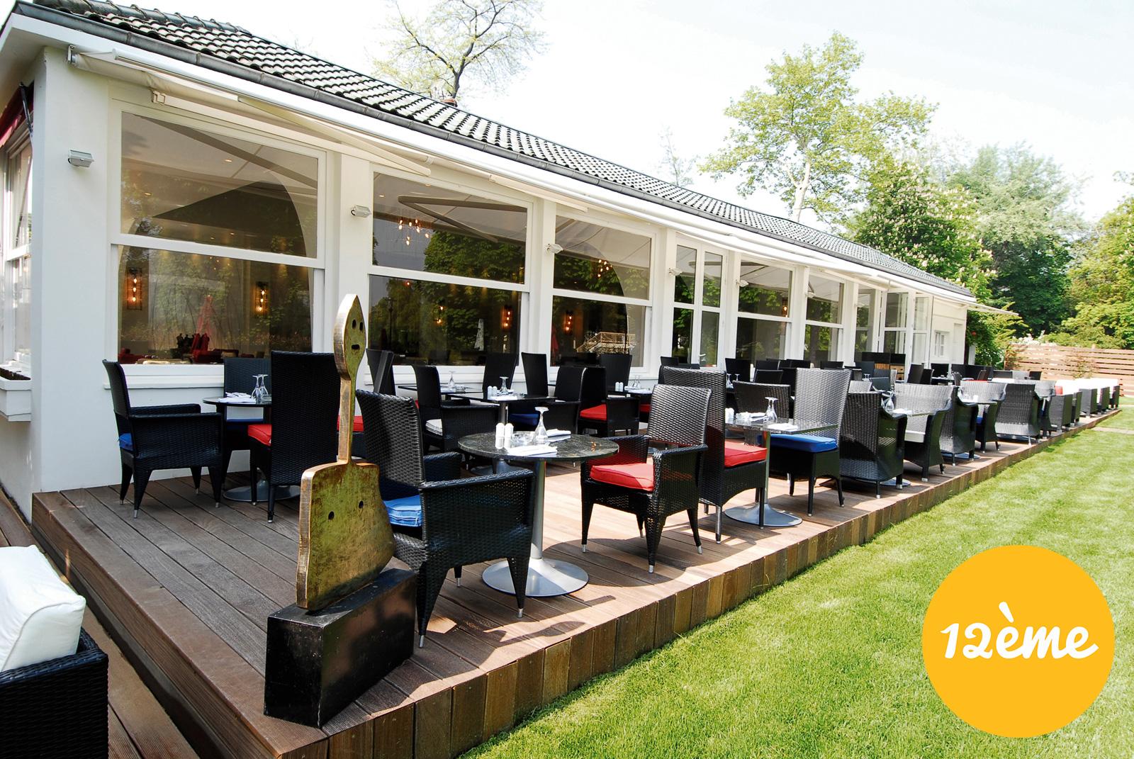 Les meilleures terrasses paris par arrondissement foodette - Terrasse jardin marais villeurbanne ...