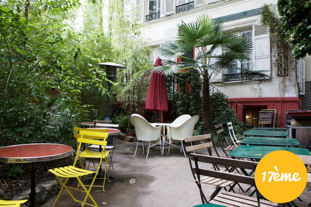 Les meilleures terrasses paris par arrondissement foodette for Restaurant avec patio paris