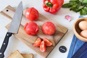 Tomate crue