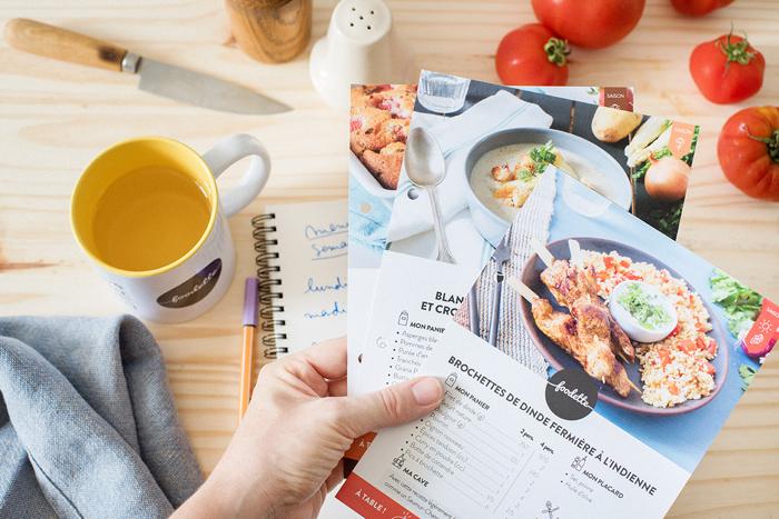 Foodette choix des recettes