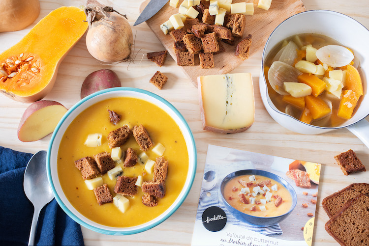 foodette ingrédients panier recett