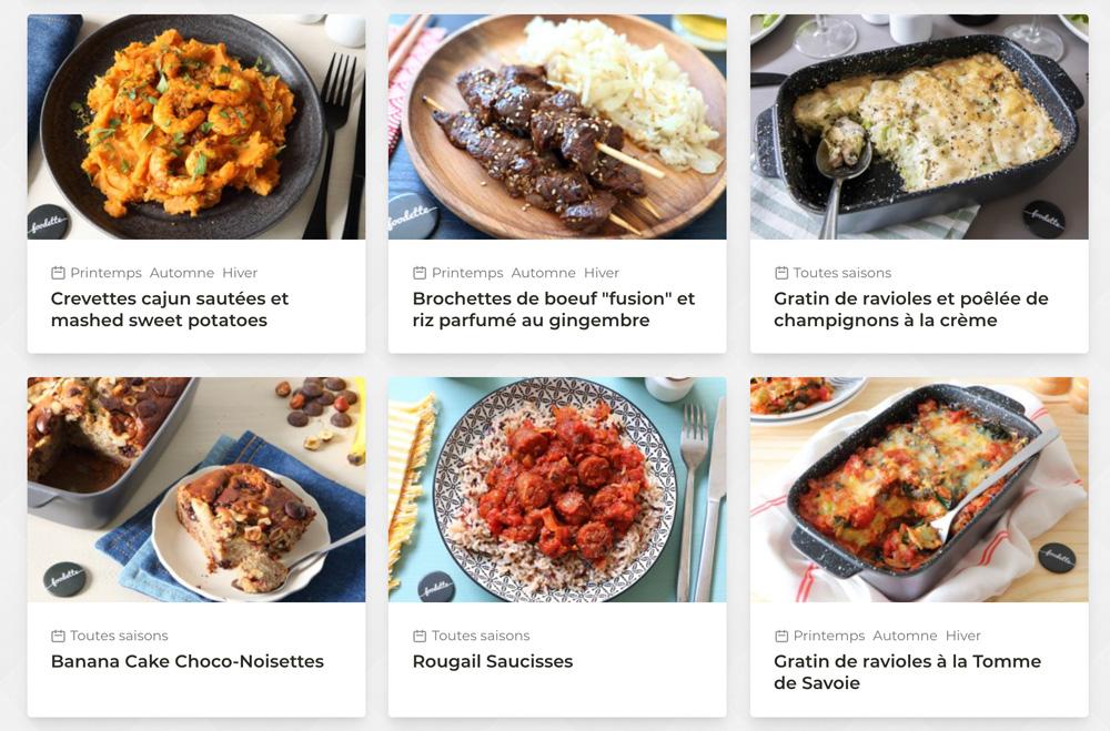 foodette toutes les recettes