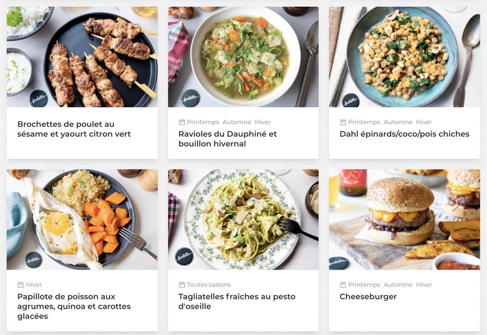recette foodette 2020