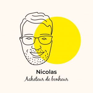 Dans l'assiette de… Nicolas, acheteur de bonheur !